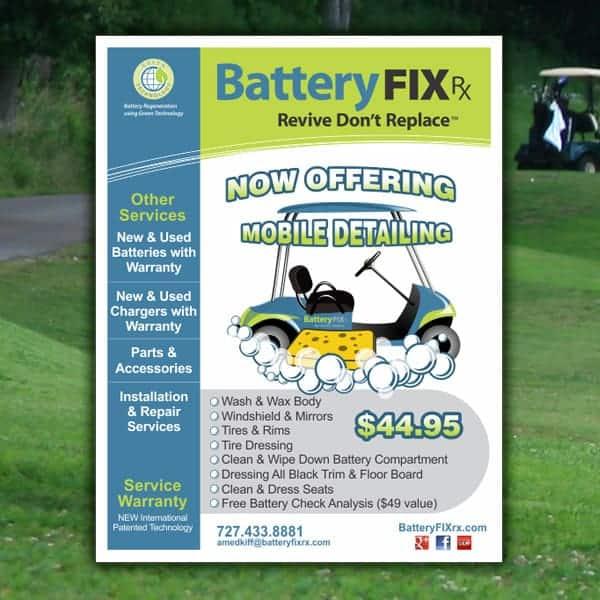 Ad-Battery Fix RX Flyer