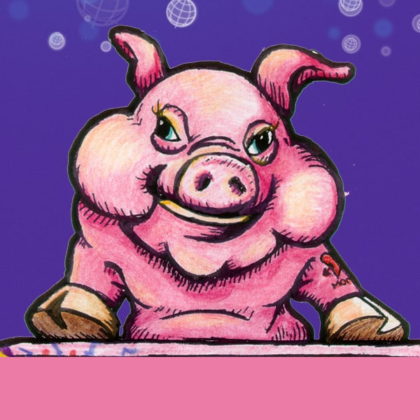 Illustration-Pig