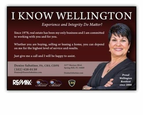 Ad-Denise-Sabatino-Realtor I Know Wellington