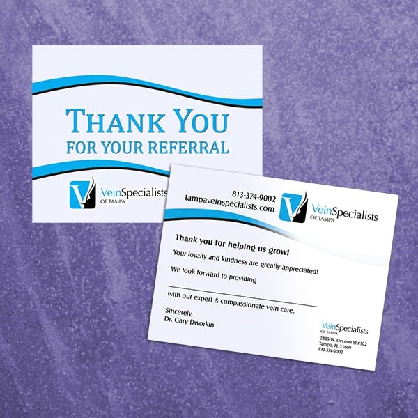 Postcard-Vein-Specialists-Thank-You-Card