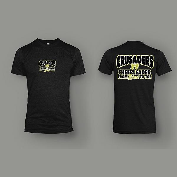 Apparel-Tshirt-Crusaders-Cheerleader