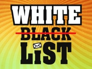 How to White List an email