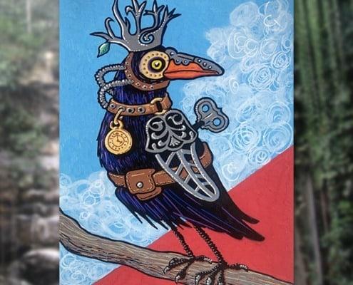 Fine-Art-Steampunk-Raven