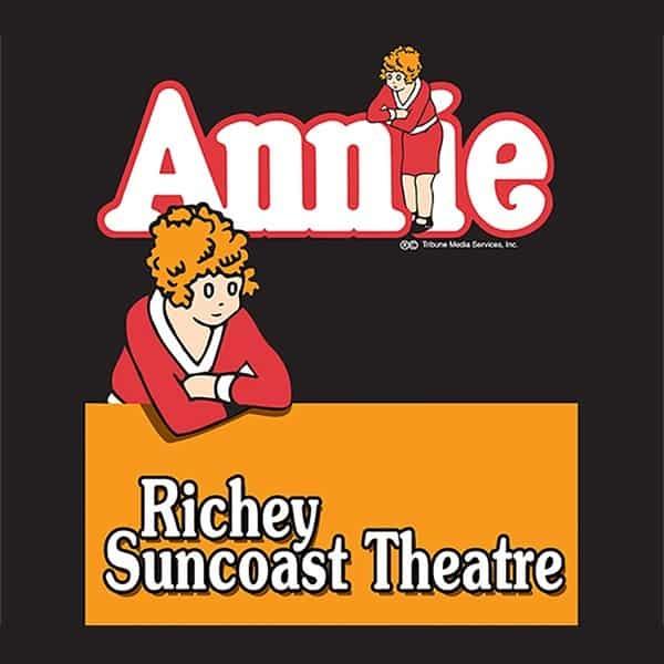 Poster-Richey-Suncoast-Theatre-2003-Annie