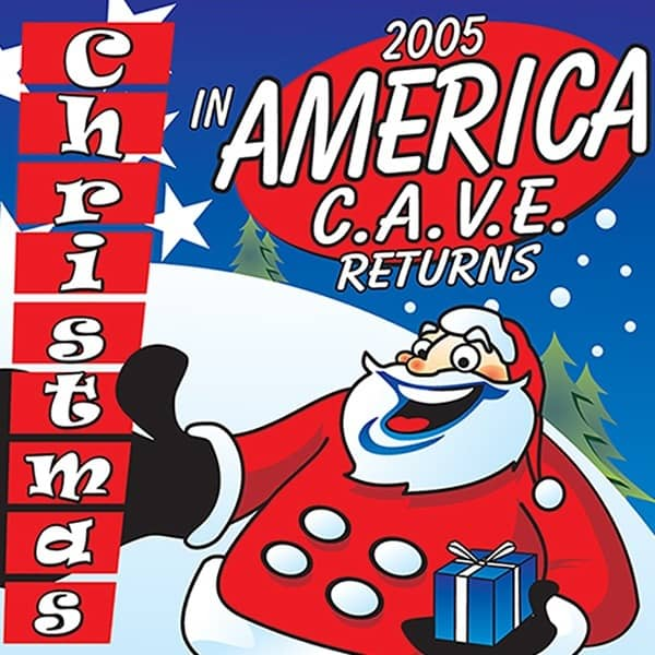 Poster-Richey-Suncoast-Theatre-2005-Christmas-In-America-CAVE-Returns