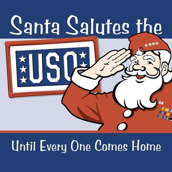 Poster-Richey-Suncoast-Theatre-2006-Santa-Salutes-the-USO