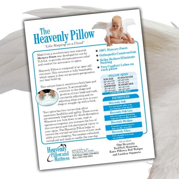 Sell-Sheet-Heavenly-Pillow