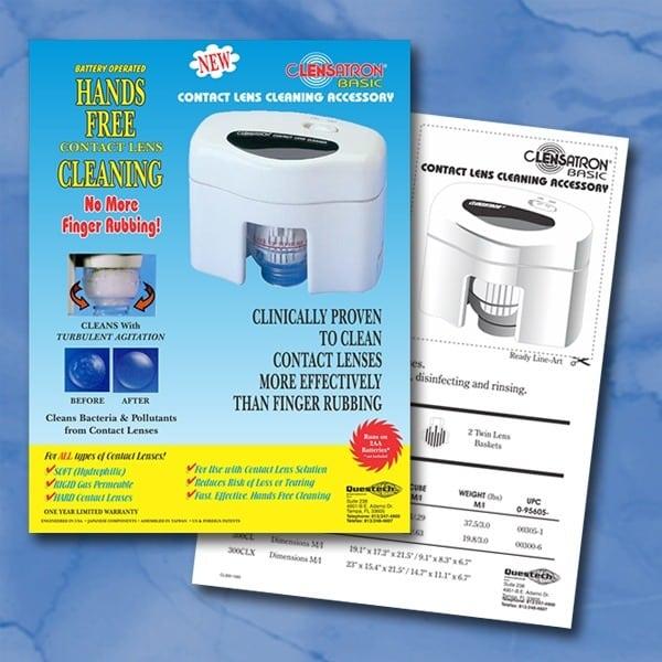 Brochure-Questech-Clensatron-Contact-Lens-Cleaner