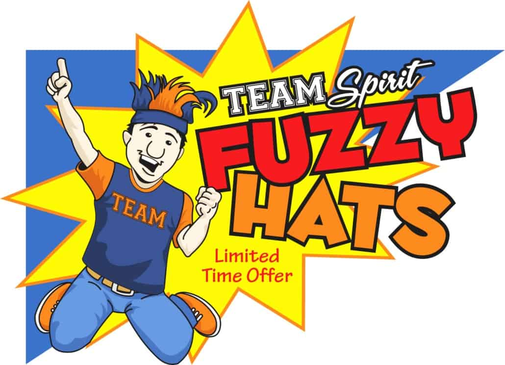 Point-of-Purchase-SAW-Team-Spirit-Fuzzy-Hats
