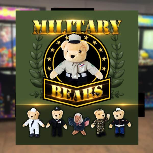 Point-of-Purchase-Sega-Amusement-Works-Military-Bears