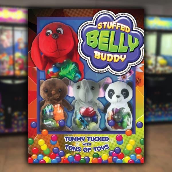 Point-of-Purchase-Sega-Amusement-Works-Stuffed-Belly-Buddy