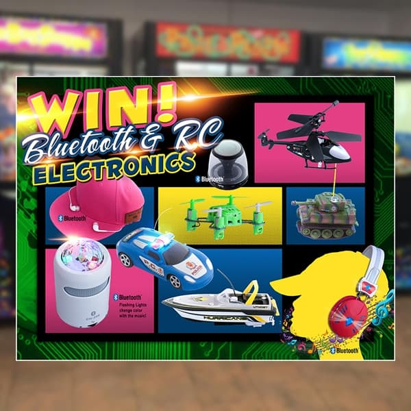 Point-of-Purchase-Sega-Amusement-Works-UFO-Arcade-Game