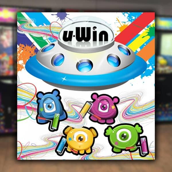 Point-of-Purchase-Sega-Amusement-Works-UWin-Arcade-Game